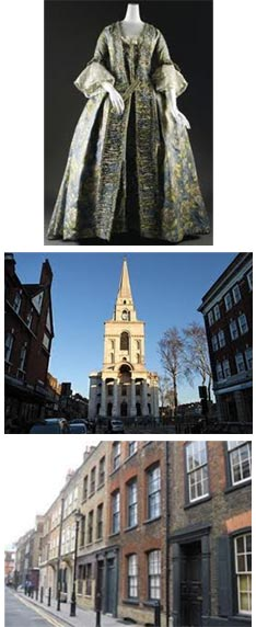 Images from Spitalfields Huguenot tour with Blue Badge Guide Sue Jackson