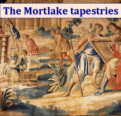 The Mortlake tapestries talk by London Blue Badge guide and historian Sue Jackson